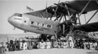 Un avión de pasajeros de la aerolínea Imperial Airways