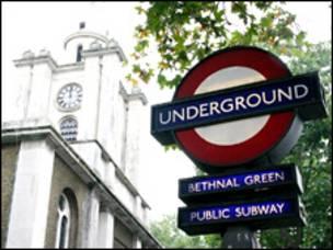 Estación del metro Bethnal Green