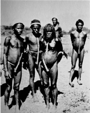 Nativos de la llamada Shangri-La