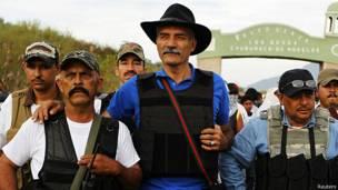 Jose Manuel Mireles, jefe de las autodefensas de MIchoacan