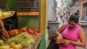 Compras en Cuba