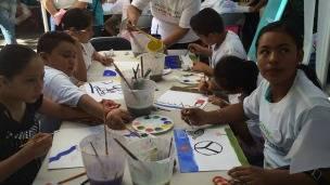 Estudiantes en Guerrero, México. Foto: Gobierno de Guerrero