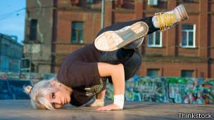 Bailarina de streetdance