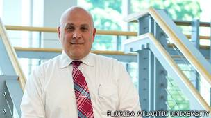 James E. Galvin, foto gentileza Florida Atlantic University