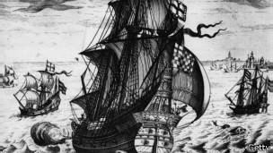 Ilustración del Galeón San José
