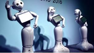 Robots humanoides.
