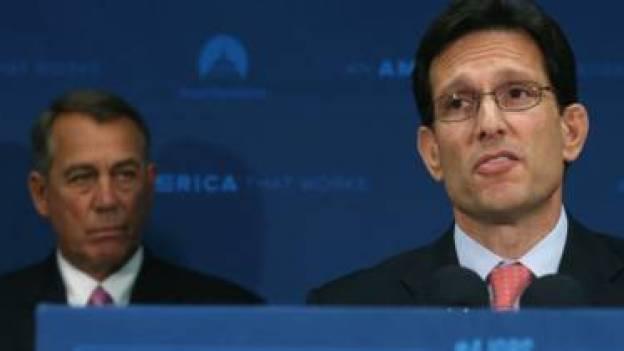 Boehner y Cantor