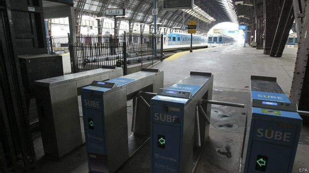 Trenes subterráneos
