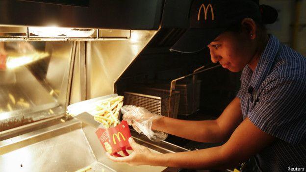 En McDonald's se refieren al personal como