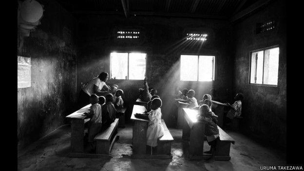 Orfanato del condado de Kakuto, en Uganda.