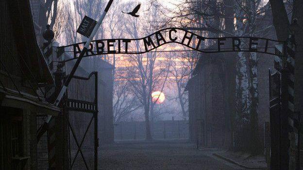 Groening llegó al campo de concentración de Auschwitz en 1942.