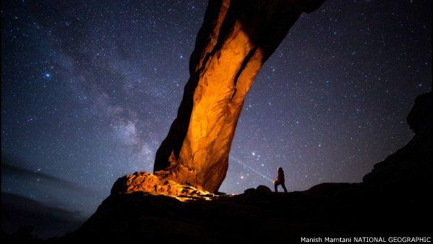 Parque Nacional Arches, en Utah (EE.UU.)
