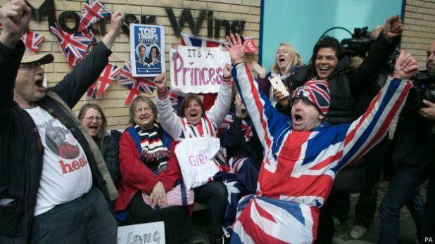 凱特王妃順利誕下女兒 英國王室喜添新成員
