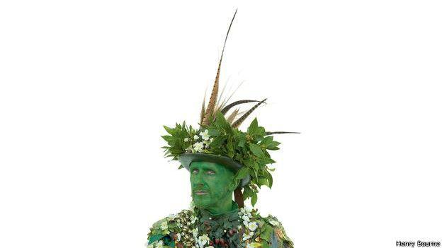 El personaje de Jack-in-the-Green