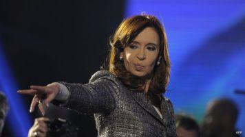 Cristina Fernandez, presidenta de Argentina