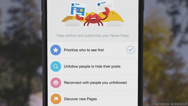 Captura de pantalla de la opción
