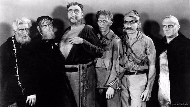 """Escena de """"I walked with a zombie"""", de 1943"""