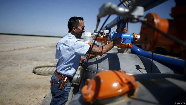 Extracción de agua
