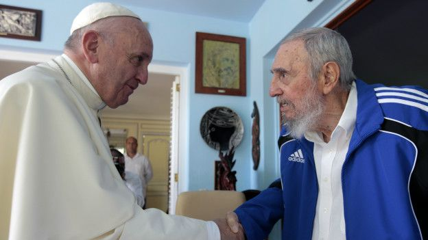 Francisco y Fidel Castro
