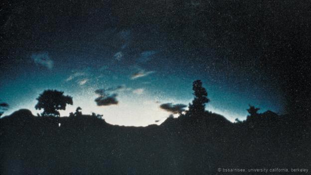 Luces fantasma en el monte Kimyo, Japón