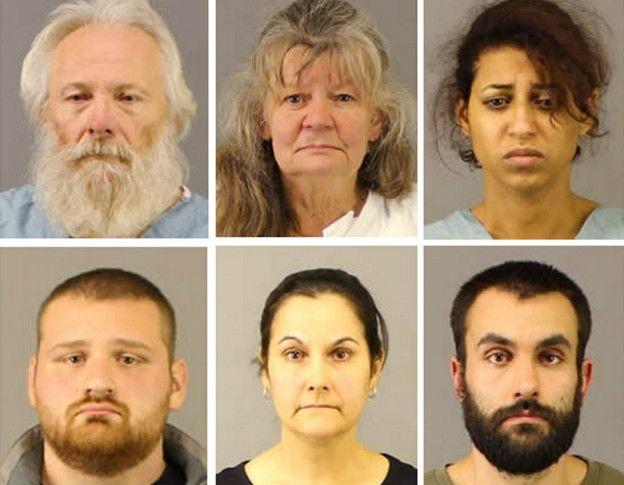 Арестованные по делу об убийстве
