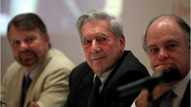 Jorge Castañeda, Mario Vargas Llosa, Enrique Krauze