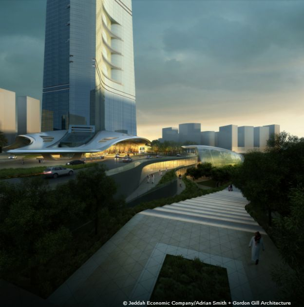 © Jeddah Economic Company/Adrian Smith + Gordon Gill Architecture