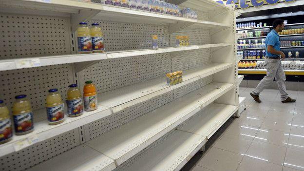 Un supermercado de Venezuela
