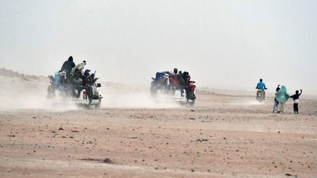 Desierto en Libia