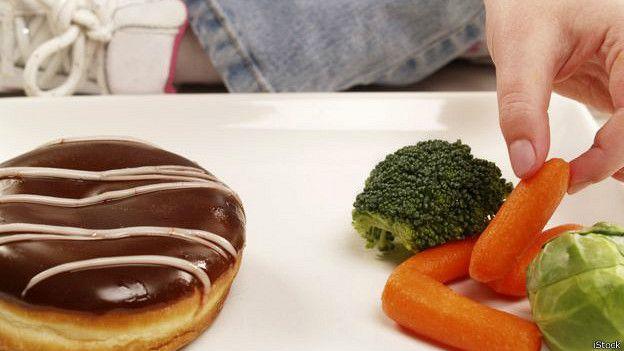 Rosquillas y brócoli