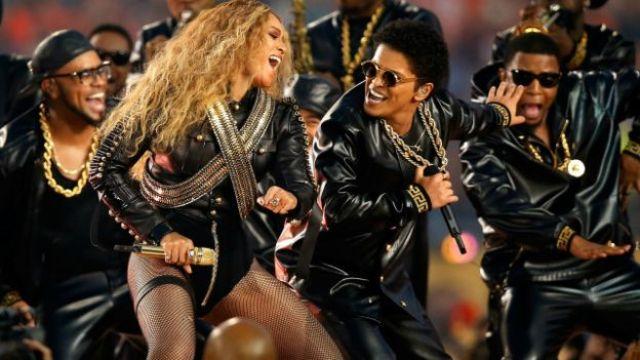 Beyoncé y Bruno Mars