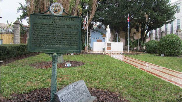 Parque José Martí, Ybor City, Tampa, febrero 2016