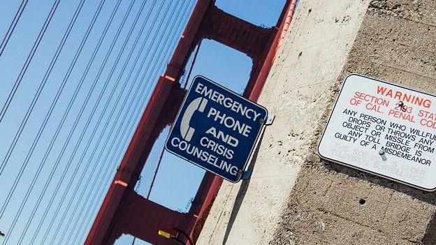Aviso de emergencia contra suicidios en el puente de San Francisco