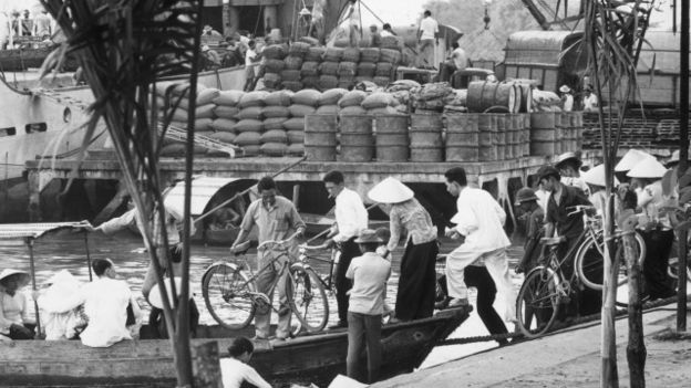 Cảng Sài Gòn năm 1/1970