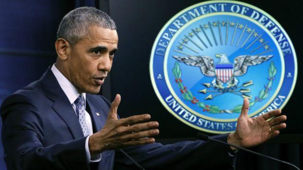 obama in pentagon