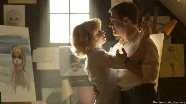 Amy Adams y Christoph Waltz dan vida al matrimonio Keane en la gran pantalla.