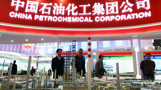 Corporación petroquímica china