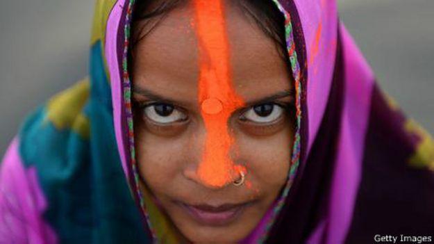 Devota do hinduísmo