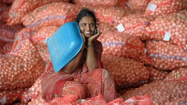 Cebolla, India