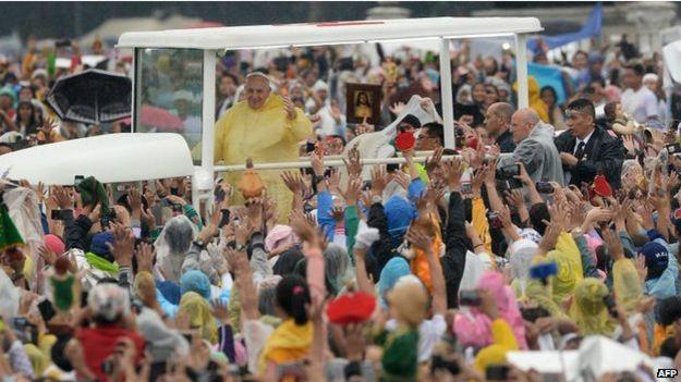 El Papa en Manila