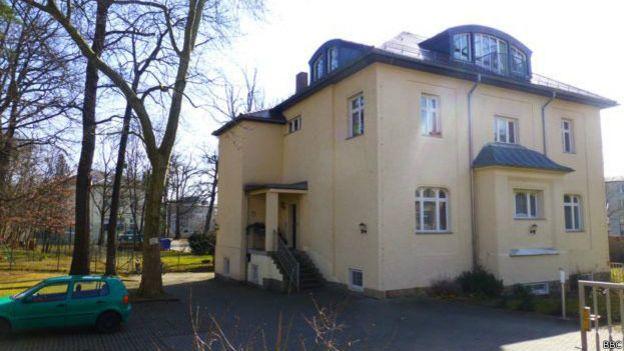 Cuarteles de la KGB en Dresde