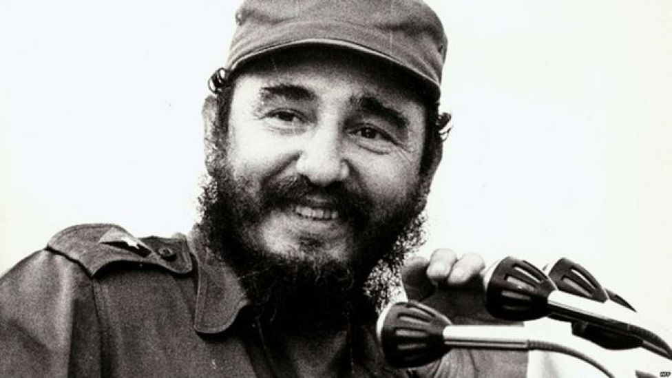 Fidel Castro durante una rueda de prensa en La Habana en 1972. Foto: AFP Getty Images