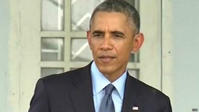 Obama en rueda de prensa en Myanmar