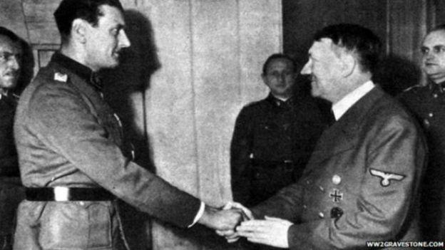 Hitler y Skorzeny