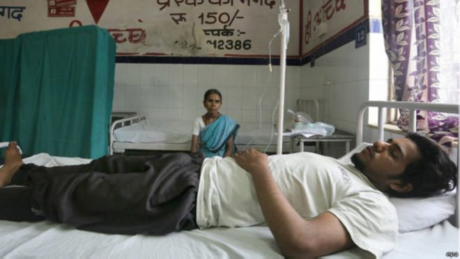 Rumah-rumah Sakit di India Kewalahan Tampung Pasien Gelombang Udara Panas.