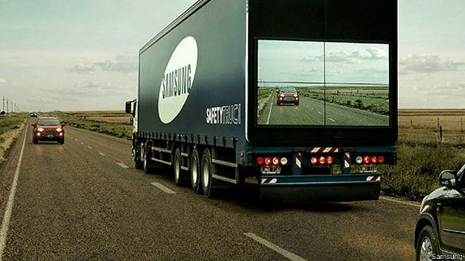 Samsung, Camión seguro