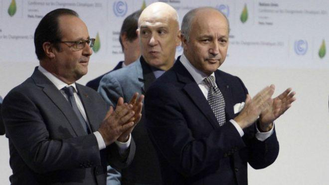 Hội nghị thượng đỉnh về biến đổi khí hậu tại Paris, 2015