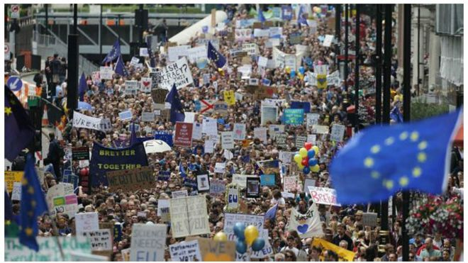London demo