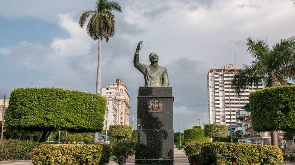 Monumento a Salvador Allende. Foto: Raquel Pérez