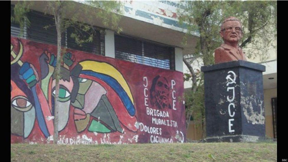 Busto de Salvador Allende en Quito
